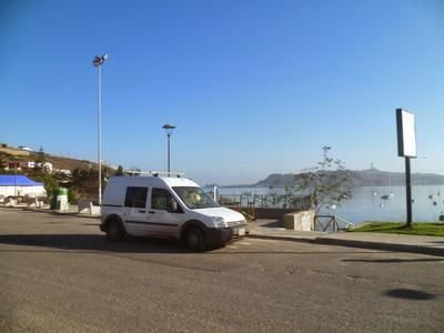 I could park stealth anywhere and safe. My small Ford Transit Connect T230L Van 1,8TDCI 81kW diesel minivan was bought second hand in Holland and shipped to Bonaire, Dutch Caribbean. Then in