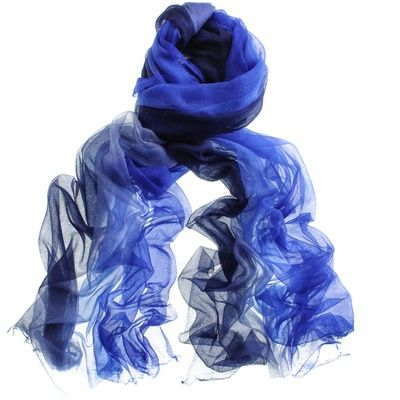 Cashmere Modal Scarf - EDGY BLUE by VIDA VIDA moJAn5SJU