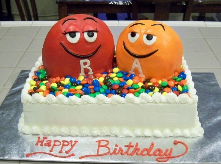 76 best MM cake images on Pinterest M m cake Biscuits and Cake