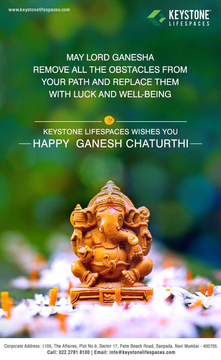 Keystone Lifespaces wishes you a very Happy Ganesh Chaturthi #GaneshChaturthi2017 #Ganeshotsav2017 #Festival #Celebration #Occasion