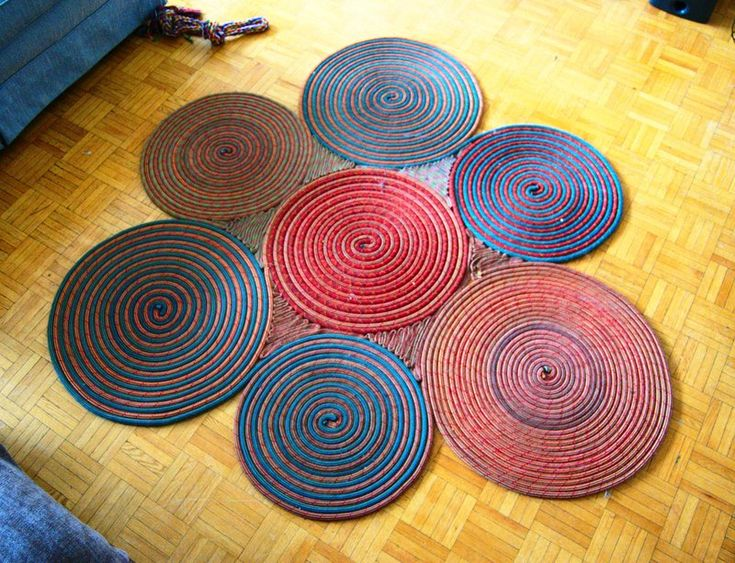 Wonderful DIY Climbing Rope Rug Something Fun To Do When Itu0027s Time To Retire The Ropes