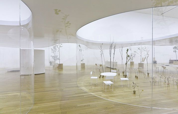 SPACE FOR YOUR FUTURE:Recombing the DNA of Art and Design at the MUSEUM OF CONTEMPORARY ART in Tokyo / Sanaa