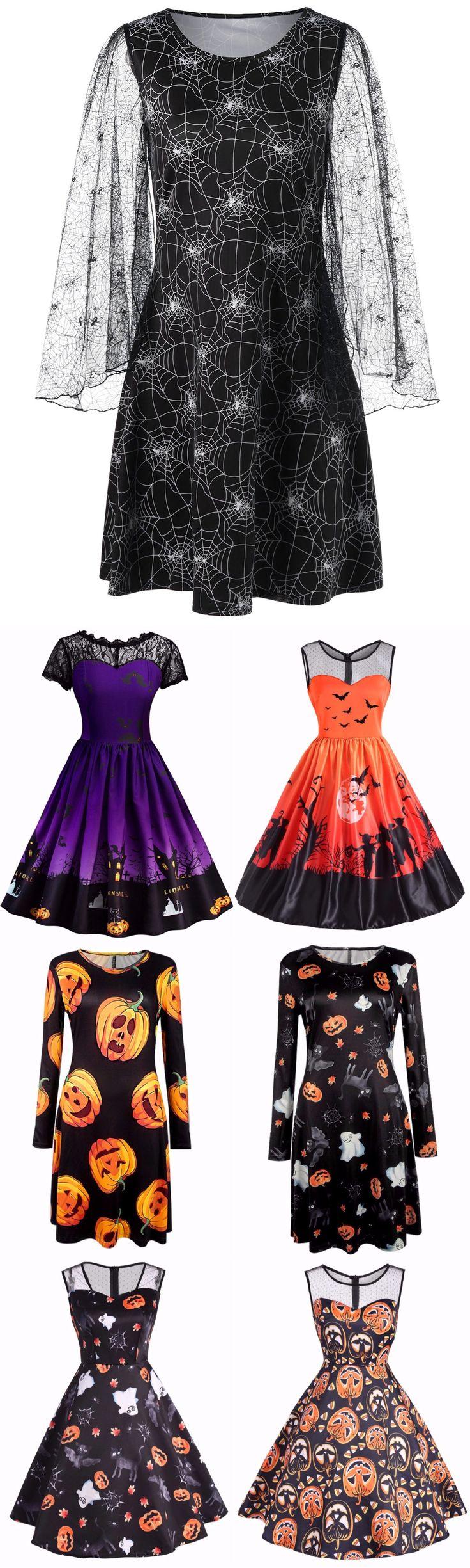 Halloween Costume Dress | Start From Only $10 | Dress Frill | Ruffle Dress | Belted Surplice | Chiffon Ruched | Mermaid Dress | Dress Geometric | Feather Dress | Purple Dress | Sammydress.com