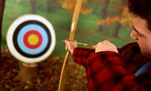 Groupon - One, Two, or Three Introductory Archery Lessons at Revolution, The Off-Road Experience (Up to 49% Off) in Revolution Off Road . Groupon deal price: $52