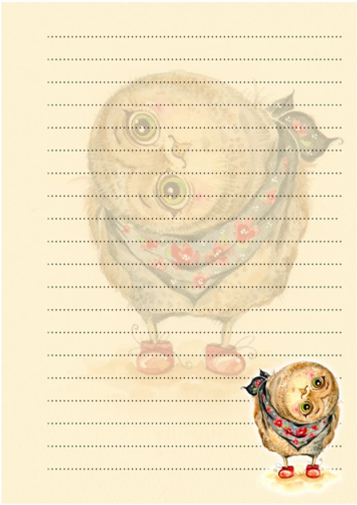 Printable Notepad Paper Endearing 477 Best Stationary Images On Pinterest  Writing Paper Writing .