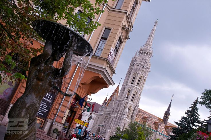 Matthias Church Spire - Budapest photo | 23 Photos Of Budapest