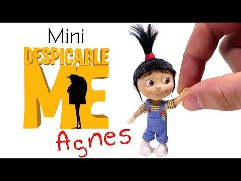 (1) How To Agnes Inspired Miniature Doll // Despicable Me DIY - YouTube