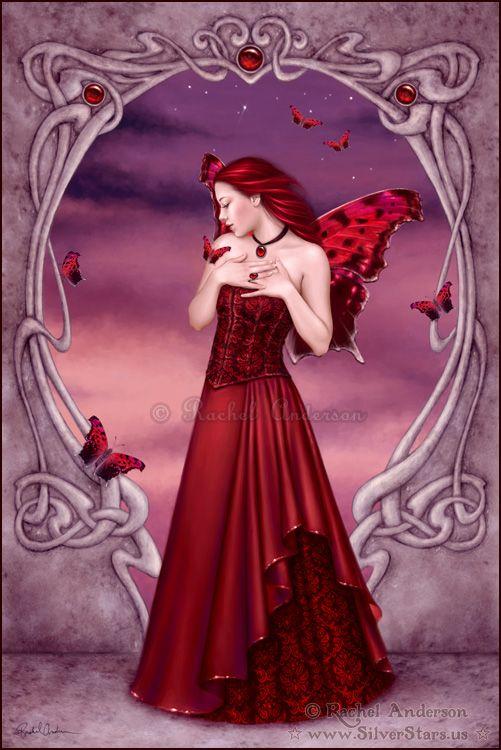 Birthstones - Garnet  by Rachel Anderson
