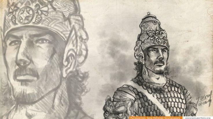 wacananusantara.org   Purnawarman, Sang Maharaja Tarumanagara