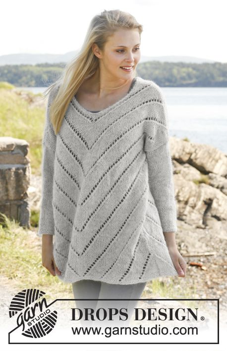 A jumper to live in :-) Warm and soft in Alpaca and Kid-Silk #knit