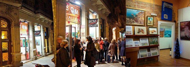 Contacta con BCM Art Gallery - Galerías de arte y salas de exposiciones en Barcelona