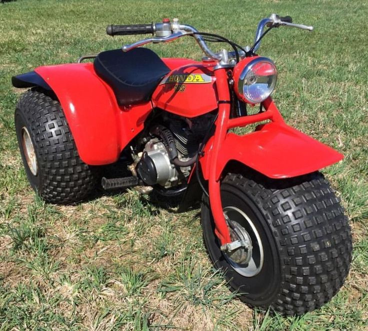 1980 Honda ATC185 Honda, Wheeler, Trike