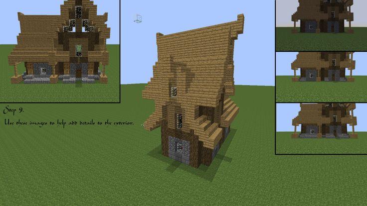 Minecraft Medieval House Tutorial