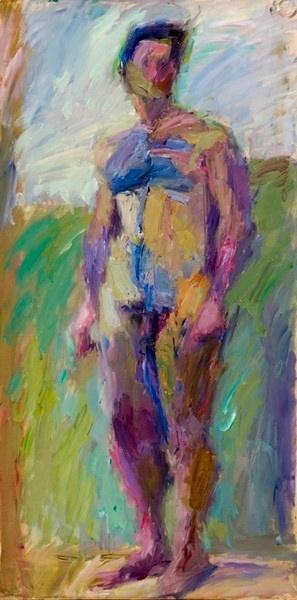 Κόττης Γιάννης (1949- )  1979 ελαιογραφία