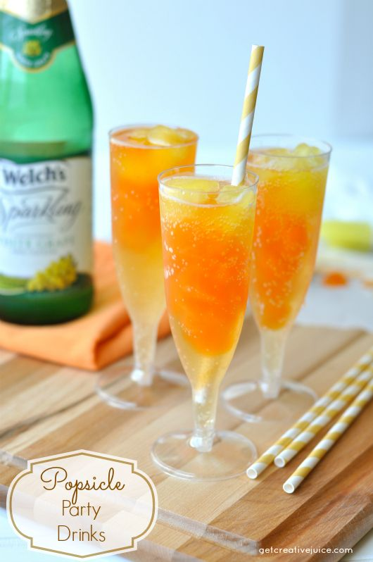 drink recipe non alcoholic popsicle flavored party