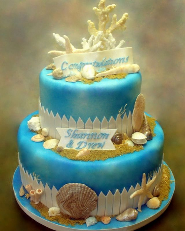 Beach Cake Ideas Pinterest