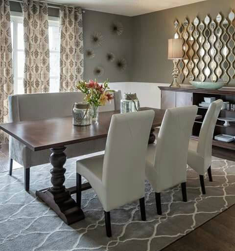 Love Love Love The Table And Chairs Dining Room Wall