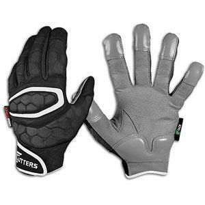 Cutters Gloves Hexpad Lineman Football Gloves (Black, X-Large) by Cutters. $55.37. McDavid's patented HexPad Technology is the leading protective padding system. Now featured in our new lineman glove, HexPad's individual closed cell athletic padding is dense and lightweight. It moves with and conforms to your hand, creating the ultimate in performance, protection, comfort, and flexibility. The HX80 also features C-TACK Material on palm patch and fingertips for ultimate grip and...