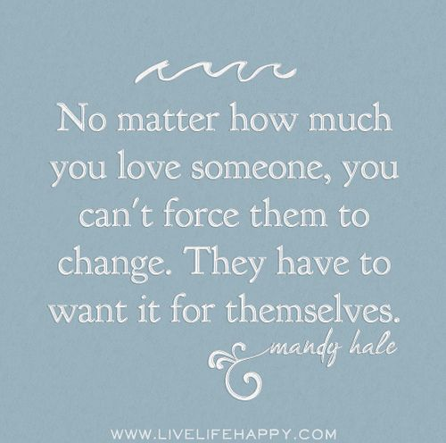 """Love U Cant Have: """"No Matter How Much You Love Someone, You Can't Force Them"""