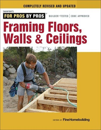 For the DIY-er who wants to build a new home from scratch, add on an addition, or tackle a major renovation, the mix of articles featured in this guide shows how to do it right the first time - from trueing up a mudsill and cutting multiple parts all at once (a tremendous timesaver) to selecting headers, erecting trusses, and completing cathedral and coffered ceilings. Each project is accompanied by step-by-step instructions and extensive color photos and illustrations.