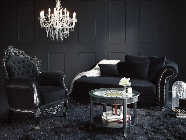 17 meilleures id es propos de salons gothiques sur pinterest salle gothique chambre. Black Bedroom Furniture Sets. Home Design Ideas