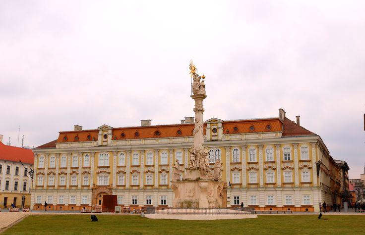 The Holy Trinity Monument, Timisoara, Romania. Credits: Monica Tanase