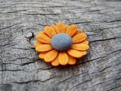 Spineczka do włosów kwiatek