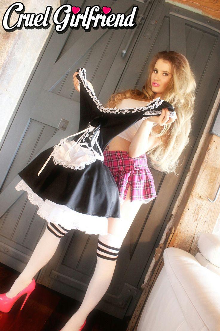 bottom french maid escort