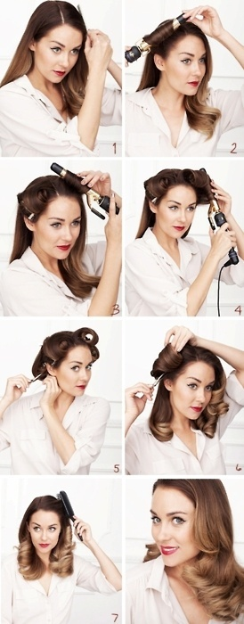 Pin Up Hair! www.makeupmacosme...
