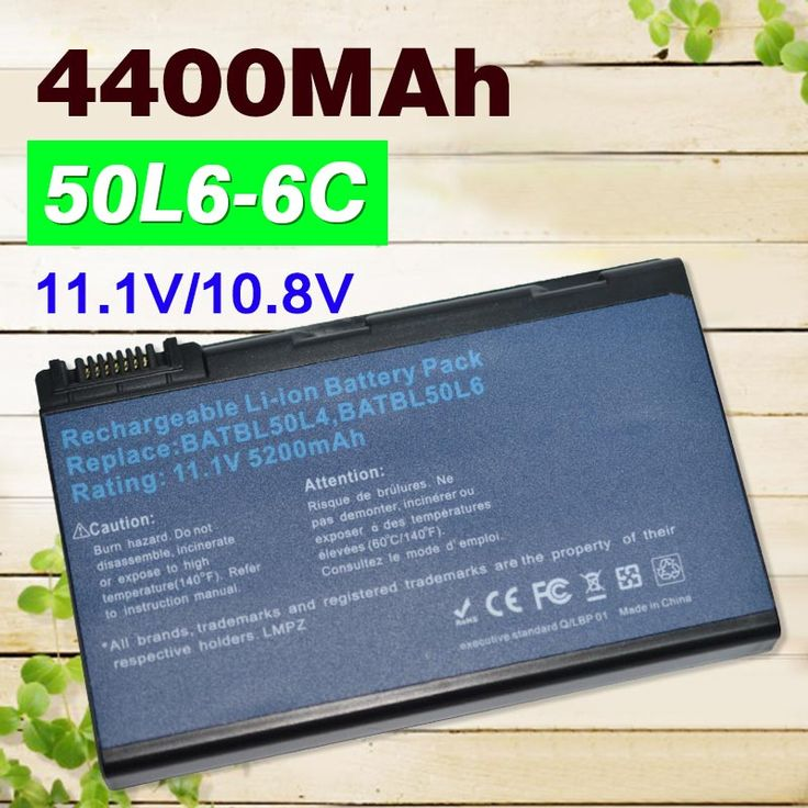 4400mAh 11.1v BATBL50L6 BATBL50L4 battery for Acer Aspire 3100 3690 5100 5110 5610 5630 5650 5680 9800 9810