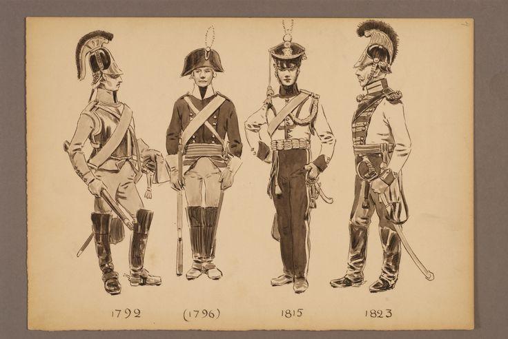 The Life regiment of dragoons 1792-1823 by Einar von Strokirch