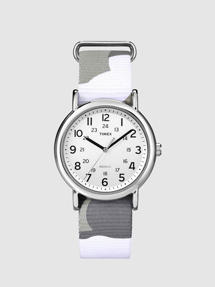 Timex - Weekender Grey Camo | FreshCotton.com