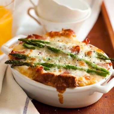 Overnight Egg & Cheese Strata recipe