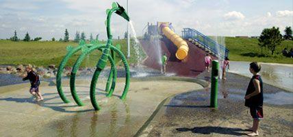 Spray parks edmonton