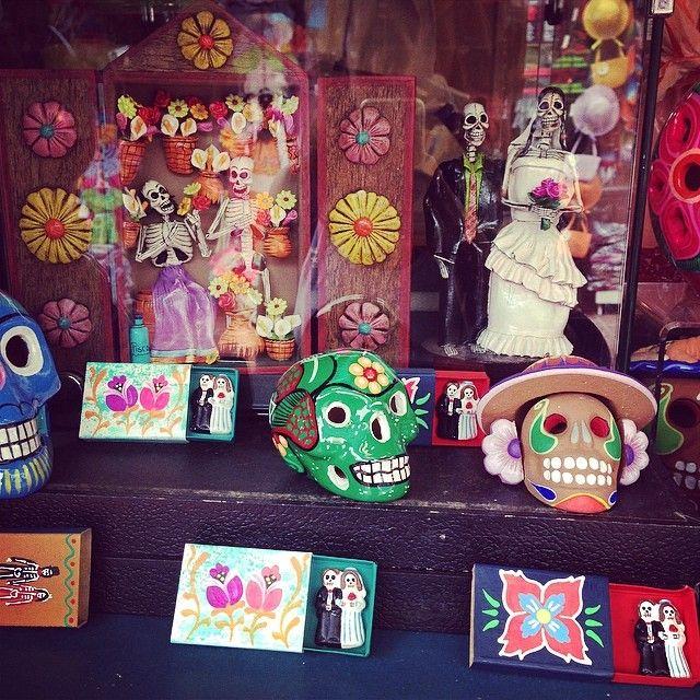 Placita Olvera in Los Angeles, CA authentic Mexican market place