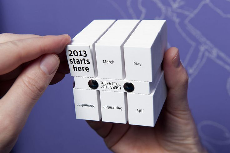 Bronze Award for The Cube Calendar by Stroomberg (2013)