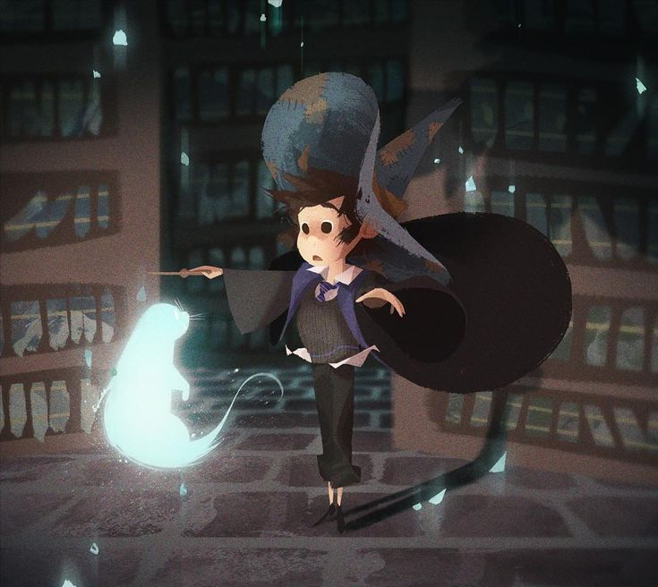 """EXPECTO PATRONUM!  My #wizardsona / #witchsona !   I'm in house Ravenclaw and my wand is made of Aspen wood with Phoenix feather core, 11 ¾"""" and unbending flexibility. The buzzfeed patronus quiz says my patronus is an otter! :P"""