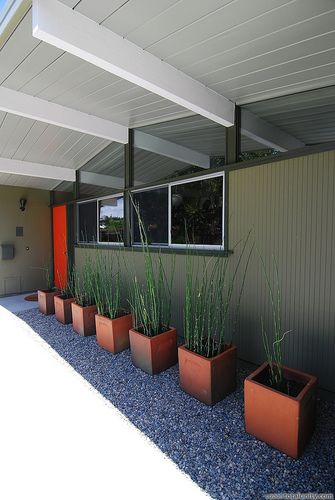 """Home in San Mateo Highlands built by """"Eichler Homes"""", via Flickr.   Love this Mid-Century modern style."""