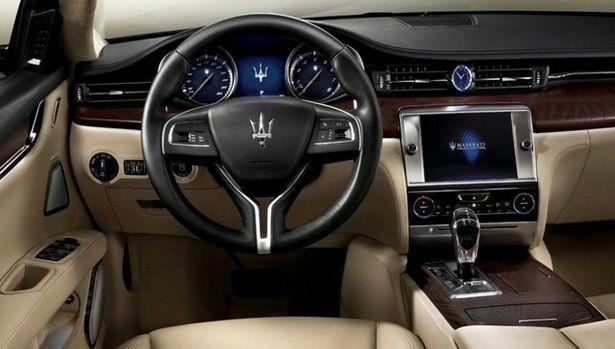 2017 Maserati Levante - interior