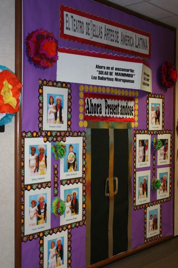 Classroom Decorations For Grade 6 ~ Images about hispanic heritage month on pinterest