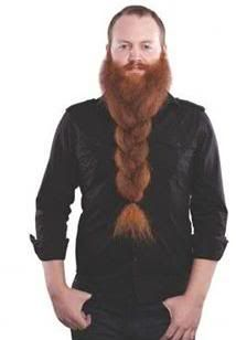about the thickness of Olgin's two beard braids.