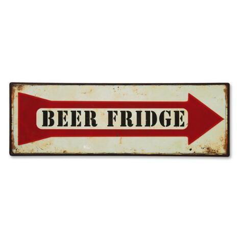 Beer Fridge Sign $4.99