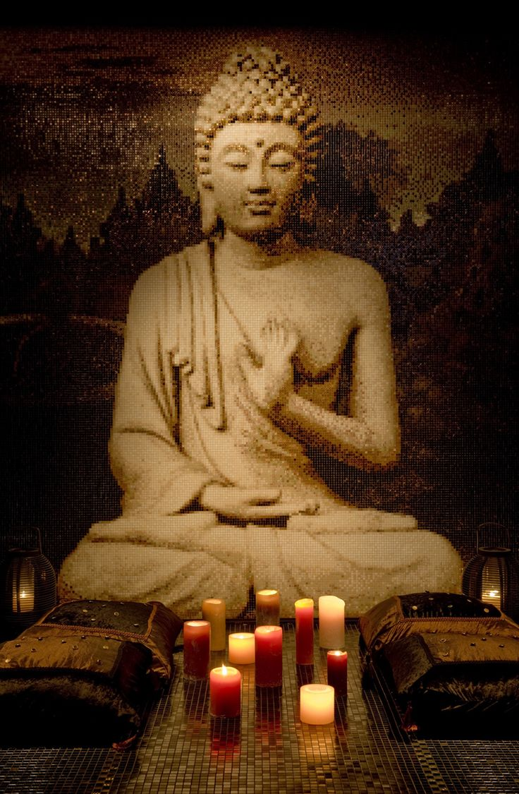 #BUddhist #Art | yoga / #meditation corner Loved and Pinned by www.downdogboutique.com to our Yoga community boards