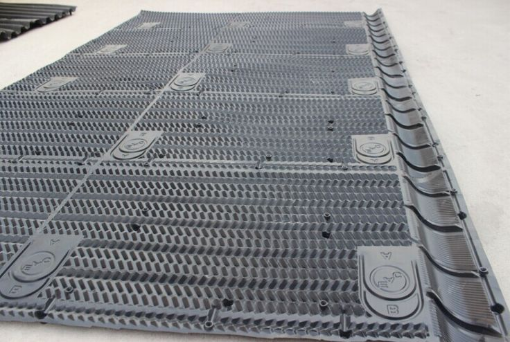 BAC COOLING TOWER FILLS Material: PVC Width: 1330 mm Length: Any length Thickness: 0.38mm