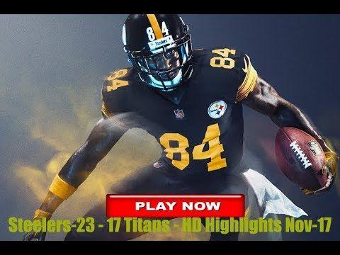 Steelers vs Titans highlights on Thursday Night Football: updates score-...