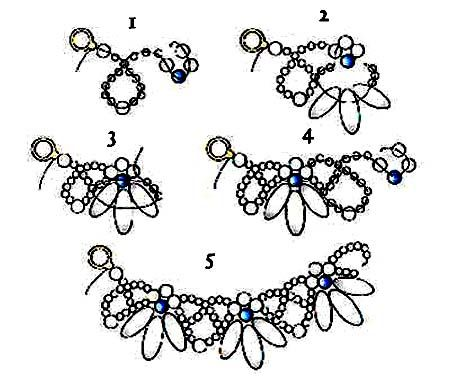 Best 25+ Beaded necklace patterns ideas on Pinterest