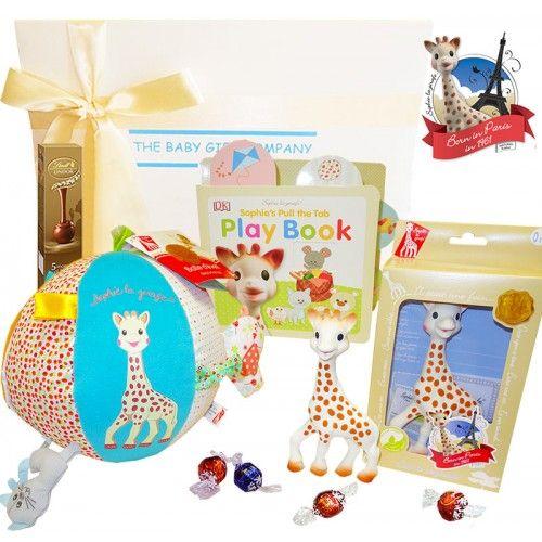 Sophie Giraffe Play Baby Gift Box