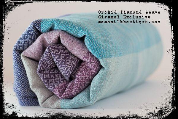 Shop: Girasol Orchid Woven Wrap Diamond Weave Exclusive
