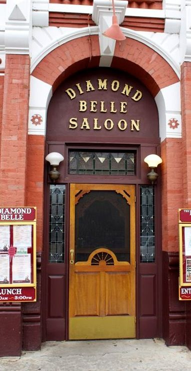 Step back in time at the Diamond Belle Saloon in Durango, Colorado.