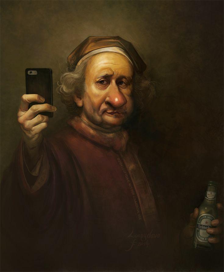 Rembrandt: Selfie 3192 by Loopydave.deviantart.com on @deviantART